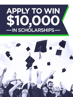 apply to win $10,000 in scholarships